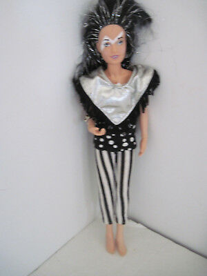 Jem and the Holograms JETTA of the Misfits Doll 1987 - Great Condition