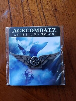 Ace Combat 7 Skies Unknown Wings Promotional Pin