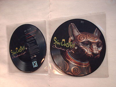 """SPIN DOCTORS Cleopatra's Cat - 7"""" PICTURE DISC - new!"""