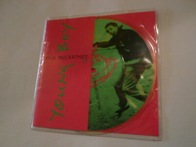 """PAUL McCARTNEY Young Boy - 7"""" Picture Disc - Parlophone RP 6462 - NEW!"""