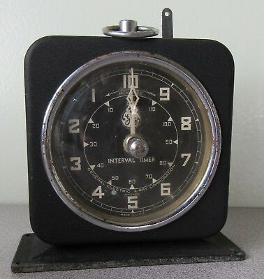 Vintage General Electric X-Ray Interval Timer  ~CM672