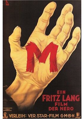 16mm M-1931 Fritz Lang  b/w Feature Film.