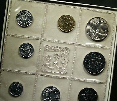 1973 San Marino Uncirculated coin set - Original packaging from the Mint