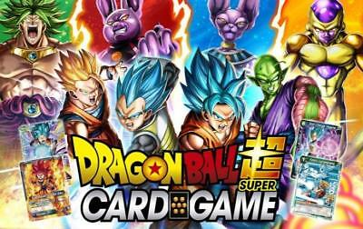 Lot de 400 cartes C / UC / R / SR - AUCUN DOUBLE - Dragon Ball Super Card Game