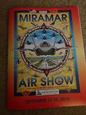 Mcas Miramar Airshow Program Sept 23-25, 2016
