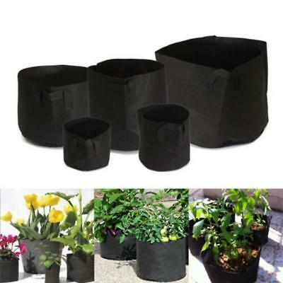 Hot Multisize Gallon Pot Plant Pouch Planter Grow Bag Aeration Root Container L