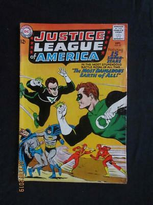 Justice League of America #30 DC 1964 - JSA x-over, Crime Syndicate app!