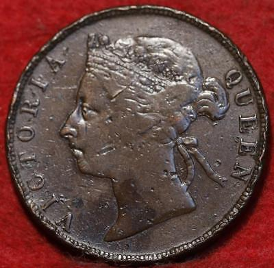 1888 British Honduras 1 Cent Foreign Coin