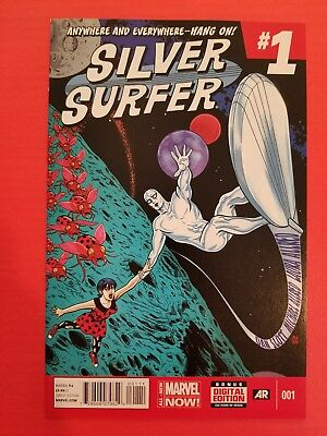 Silver Surfer #1 (Marvel, May 2014) NM 1st print