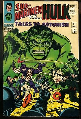 Tales to Astonish #81 VF