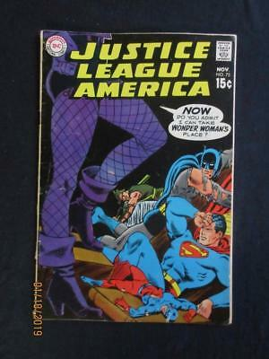 Justice League of America #75 DC 1969 - 2nd app Green Arrow in new costume!