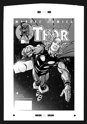 Barry Smith Thor #39 Rare Large Production Art Cover