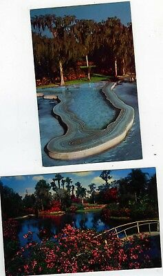 POSTCARDS LOT CYPRESS Gardens Pool Esther Williams Swimming ...