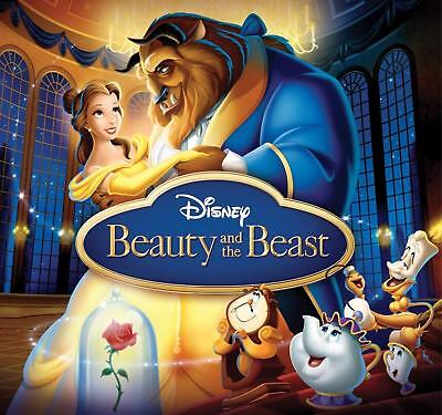 BN Beauty and the Beast You Choose BluRay or DVD Disney Animated Classic 1991