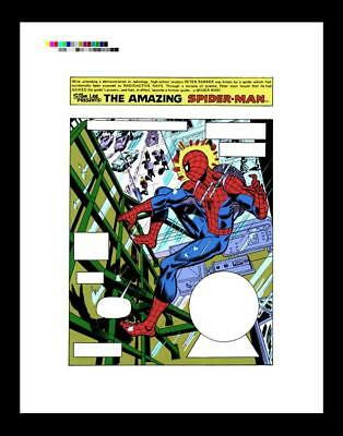 Ross Andru Amazing Spider-Man #143 Rare Production Art Pg 1