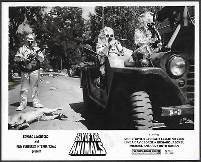 ~ Sci-Fi Horror Day of the Animals LOT 3 Original 1977 Promo Photos