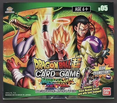 Dragon Ball Super Card Game Miraculous Revival Factory Sealed Box Series 5