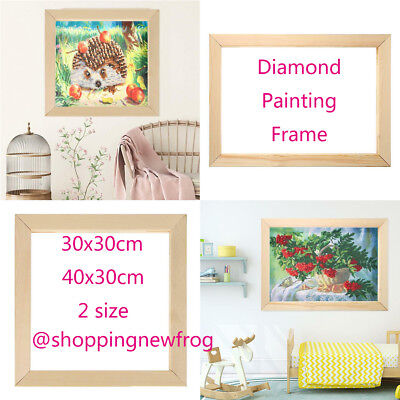 Diamond Painting Frame Photo Picture Frame DIY Cross Stitch Embroidery Wooden
