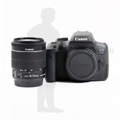 Véritable Canon EOS 750D DSLR Camera + EF-S 18-55mm f/3.5-5.6 IS STM Lens Kit