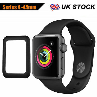 For Apple Watch 38/40/42/44 mm iWatch Full Cover Tempered Glass Screen Protector