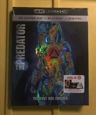 The Predator (4K Ultra HD + Blu-ray + Digital, 2018)