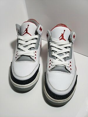 Nike Air Jordan retro 3 fire red size 9.5 excellent condition. 0fd8391ca