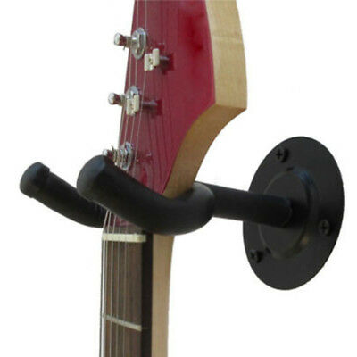 4 x Guitar Hanger Adjustable Wall Mount Display Bracket Hook Holder Bass Stands