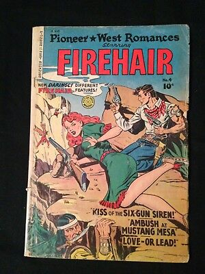 Firehair Pioneer West Romances,  , #3, Spring 1950, Fiction House