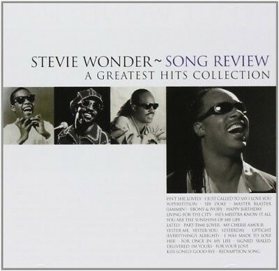 Stevie Wonder - Song Review-a Greatest Hits Collection