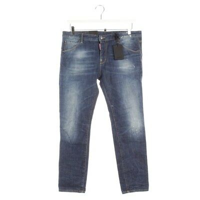 Dsquared Jeans Gr. de 40 It 46 Bleu Femmes Denim Pantalons Cool Fille Jean  Neuf ab6bf787e61