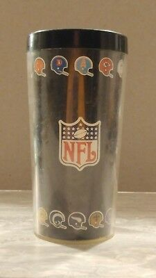 70s NFL Plastic Thermo-Serv Insulated Tumbler
