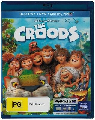 """THE CROODS"" Blu-Ray + DVD, 2 Disc Set"