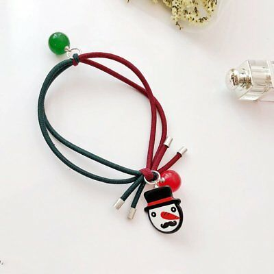 Cartoon Christmas Snowmen Children Hair Band Bulb Headwear Headband Xmas Jewelry