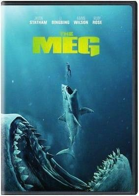 The Meg DVD. Used. Free delivery.