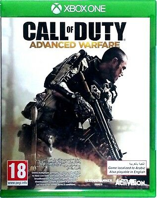Call of Duty Advanced Warfare AW - Microsoft Xbox One / XB1 Video Game
