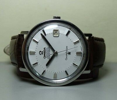 Vintage Omega Automatic Constellation Date 561 Swiss Mens Watch Old H237 Used Ah
