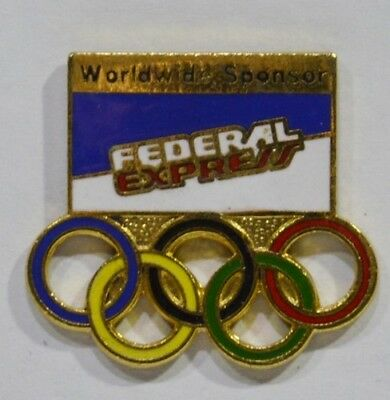 Pins Jeux Olympiques Usa Federal Express