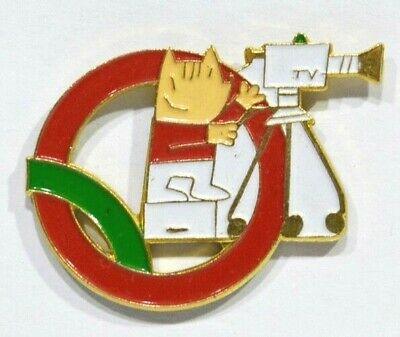 Pins Jeux Olympiques Barcelone 92 Cobi Cameraman Television