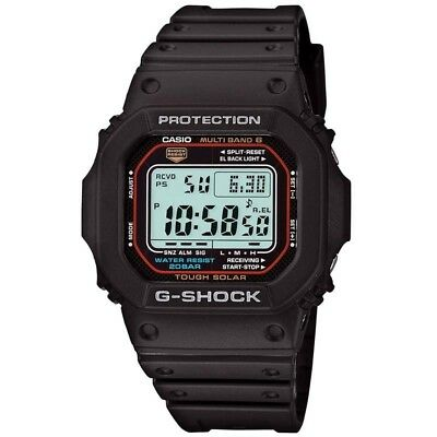 Casio G-Shock Multi-Band 6 Tough Solar Black Digital Watch Gwm-5610-1J