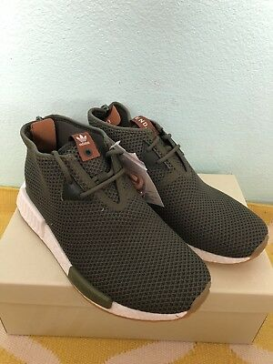 uk availability 78f0e f8d62 NEW Adidas NMD C1 CHUKKA END SAHARA BB5993 US Size 10 Green Olive