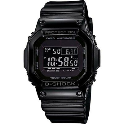 Casio G-Shock Multi-Band 6 Tough Solar Black Digital Watch Gwm5610Bb-1J