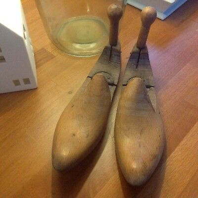 Vintage Wooden Shoe Tree