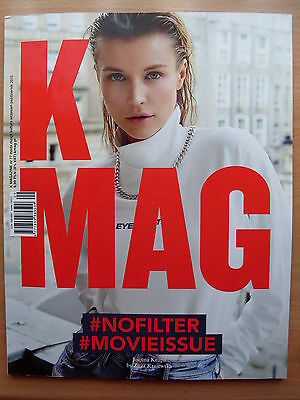 JOANNA KRUPA on front cover Polish Magazine K MAG 9-10/2015 in. New Order
