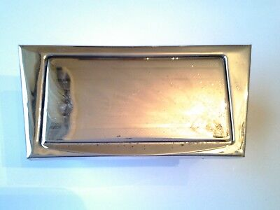 Alfa Romeo Bertone 105 Chrome Ashtray 2000 Gt Veloce Giulia Gt Junior 1971-77