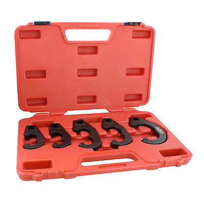 ABN | 5 Pc Tie Rod Adjusting Tool Kit and Pitman Arm Puller Kit Adjusting Set