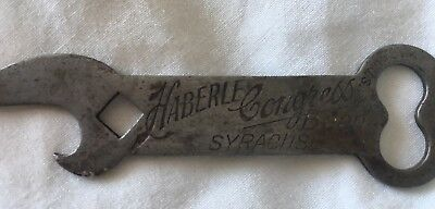 Vintage Haberle Congress Beer Can Opener Unique