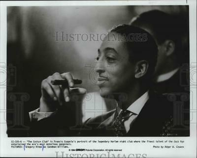 "1984 Press Photo Gregory Hines acting out the Jazz Age in ""The Cotton Club."""