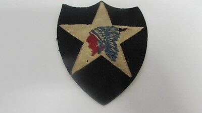 WWI era US Army 2nd division felt patch.