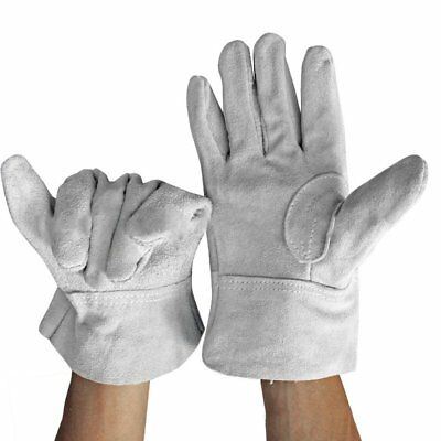 Fireproof Durable Cow Leather Welder Gloves Comfortable Anti-Heat Gloves PA