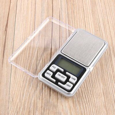 0.1g-500g Digital Pocket Weigh Mini Scales Gold Kitchen Jewellery Scale Herbs PA